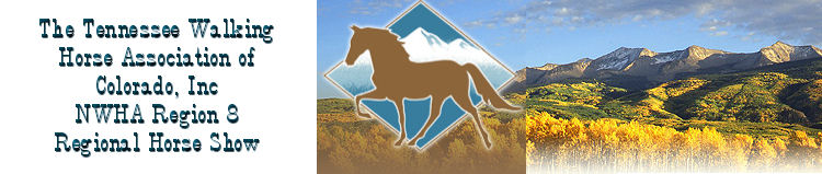 The Tennessee Walking Horse Association fo Colorado, Inc